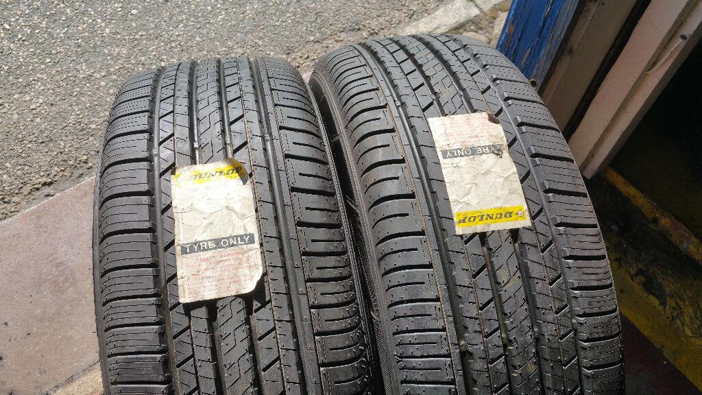 235 55 19 2 x tyres Dunlop Sp Sport Maxx A1 NEW