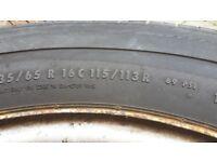 Vw crafter wheels n tyres
