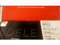 REDUCED PRICE FOR QUICK SALE - ADELE @ Wembley Stadium, 2 pitch standing tickets, Sunday 02 July £95