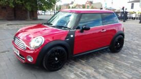 2009 (59) Mini Cooper D 1.6 Diesel Red