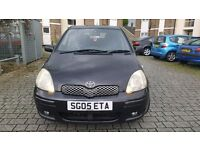 2005 Toyota Yaris 1.0 vvti color collection 5 dr in immaculate condition