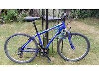 Mountain Bike with road tires, (hybrid bicycle)