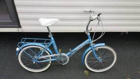 Raleigh Hercules folding bicycle...a real retro bargain
