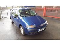 2003 Fiat Punto Dynamic 1.2 Petrol 10 Month MOT 5 Door Only Done 58000 Miles Only..
