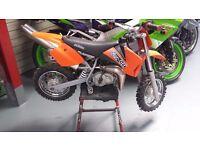 ktm 50 junior adventure moto x