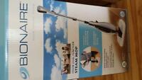 bionaire steam mop ...new in box