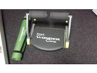 New Wonder Core excerise machine and mat a great fitness aid