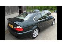 BMW 320i SE Coupe 2 doors in Green