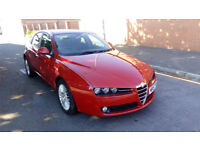 Alfa Romeo 159, FSH, cambelt + brakes done, long MOT, clean in and out