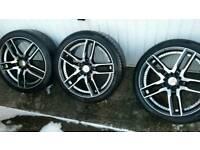 5x112 18 inch alloy wheels