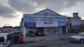 Car Business/Showroom For Sale. Potential MOT/Car Wash compound.