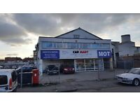 Car Business/Showroom For Sale. Potential MOT/Car Wash compound.