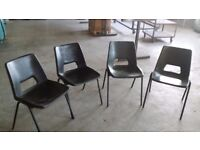 Stackable Chairs.