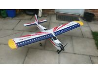 R/c aeroplanes 1 new trainer 1 project.
