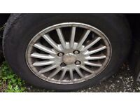 """FORD MONDEO SET OFF 4 -15"""" Inch Alloy Wheels With Tyres 195/65 / 15"""