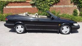 Saab 900 Convertible + Full Service History & Long MOT - Good Tyres