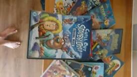 10 Scooby Doo dvds
