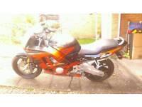 Honda cbr 600 f3 motorcycle