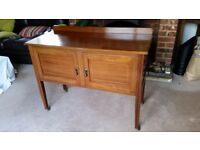 Sideboard cabinet, Edwardian with inlay