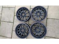 Rota Fighters 5x114.3 Alloy Wheels. Enkie Rays SSR Volk Wedsport Work Advan S2000 Civic Integra