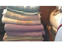 Blankets 5 for only £5. 01159785741 re-advertised due time wasters