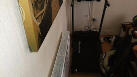V fit motorized running machine treadmill
