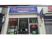 "INDIAN TAKEAWAYS FOR SELL ""AROMA TANDOORI"""