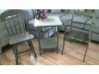 Chairs & Occasional Table