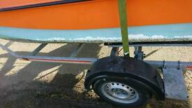 Wilson flyer 17.5ft with trailer