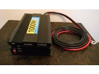 New 12V 115Ah Leisure Battery & 1000W 12V Inverter