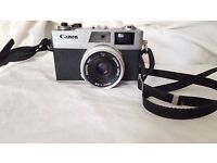 Canon Canonet 28 with Lens 1:2,8/40mm Film Camera with Leather Case