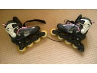 Bronx Adjustable Skates size: UK 13J - 3 , EU 34-37