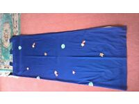 Curtains - Next Blue Space Theme for Children