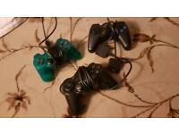Playstation 2 Controllers x 3