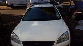 Ford focus estate 2006 white tdci diesel 11 months mot no tax..