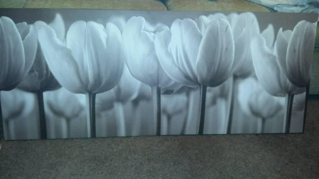 Ikea tulip print