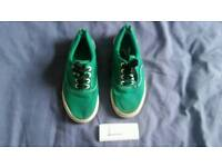 Kids shoes footwear fashion feet green