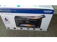 Brother printer, scanner, cope & fax. With a3 paper and 2 brand new ink