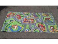 Kids Play Rug (Town design) 200cms x 95cms