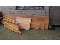 Timber worktop job lot make us an offer. Needs to go!