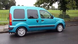 Renault kangoo wheelchair access hydraulic ramp and remote control door