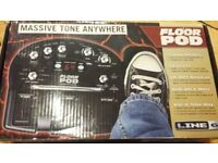 Line6 Floor POD - multi-effect guitar pedal (wah-wah, reverb, chorus, phaser, delay and more)
