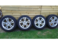 Genuine Fiat's Alloy Wheels with Tires