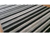Rug sparkle striped