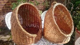Wicker Cat Igloo Baskets