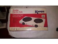 Brand New Kampa Double Cooking Hob.