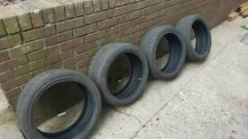 Brand New 205/40/17xl directional tyres.