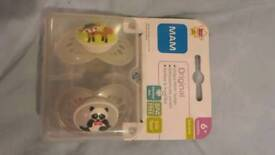 Brand new MAM original soothers 6+