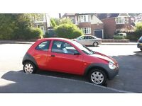 Ford KA 1.3 3dr 2004 (04) Red