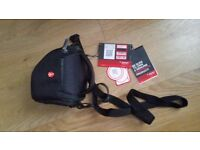 Genuine Manfrotto Advanced Camera Holster XS for CSC - water resistant Case Bag Shoulder and Belt